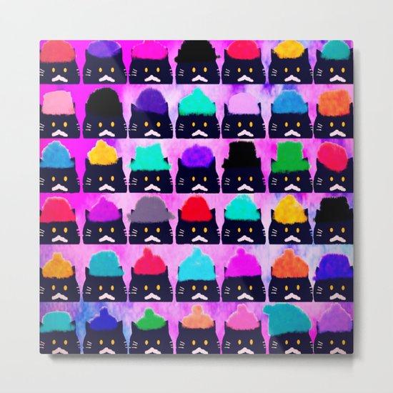 cats-391 Metal Print
