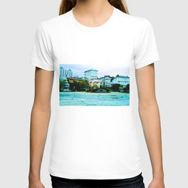 The entrance to the island. T-shirt