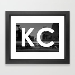 Kansas City Western Auto KC Logo Framed Art Print