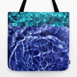 Electric Blue Globes Tote Bag