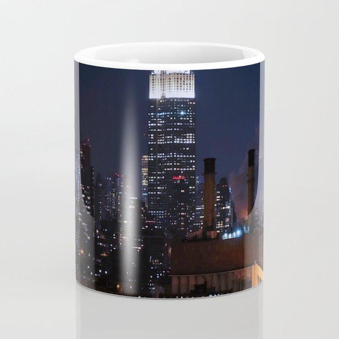 Lights of New York City (Color) Coffee Mug