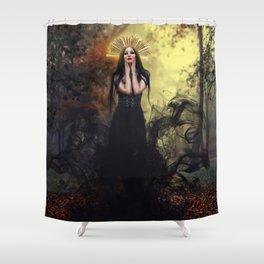 Djinn Priestess Shower Curtain