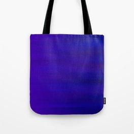 Ultra Violet to Indigo Blue Ombre Tote Bag