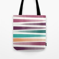 the strokes Tote Bags featuring Brush strokes by eDrawings38
