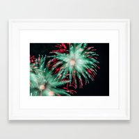 philippines Framed Art Prints featuring Fireworks - Philippines 15 by David Johnson