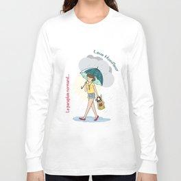 Love Honfleur-Le parapluie normand Long Sleeve T-shirt
