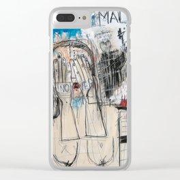 Un mal día Clear iPhone Case