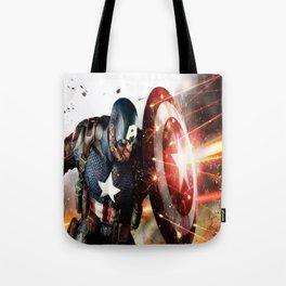Man Of Captain In America Tote Bag