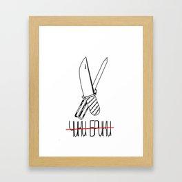 Chiki Briki Framed Art Print