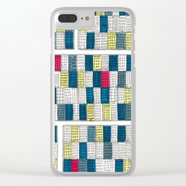 New York Streetscape Clear iPhone Case
