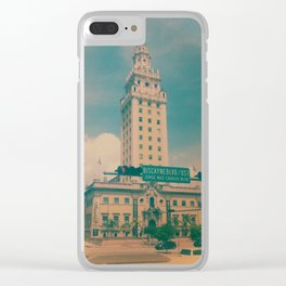 Freedom Tower Miami Clear iPhone Case