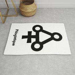 Alchemy Symbol Phlogistique Rug