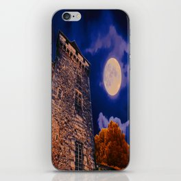 Full Moon and Castle iPhone Skin