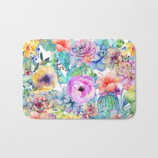 spring blossom i Bath Mat