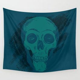 Skull Together Now Wall Tapestry