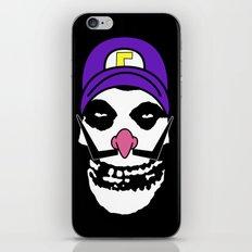 Misfit Waluigi iPhone & iPod Skin