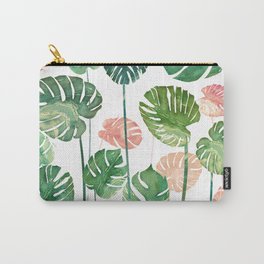 tropical leaves garden Carry-All Pouch