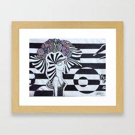 Colors of the Mind Framed Art Print