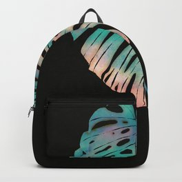 a tropical leave Backpack