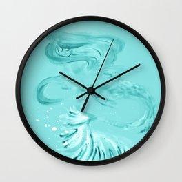 TRANSLUCENT MERMAID Wall Clock