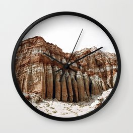 Red Cliffs / Utah Wall Clock