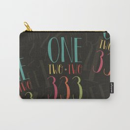 1 2 3 One Two Three Carry-All Pouch