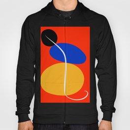 Red Zen Minimal Abstract Hoody