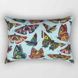 summer butterflies multi sky Rectangular Pillow
