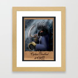 Captain Blackbeak Framed Art Print