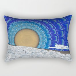 Midnight Sun Rectangular Pillow