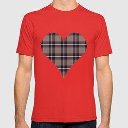 big dark weave monochrome T-shirt