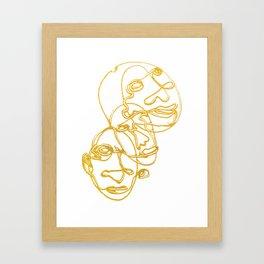 SPARKLE / 011 Framed Art Print
