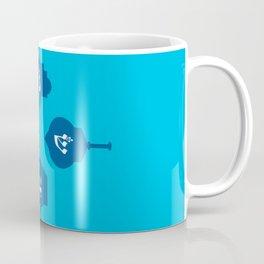 Dreidel in blue Coffee Mug