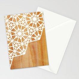 Frozen Stars Stationery Cards