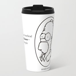 Pull a Homer Travel Mug