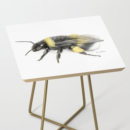 White-tailed bumblebee Side Table