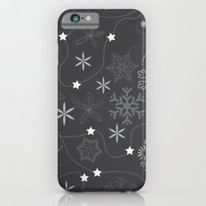Stars on a string with snowflake and fireworks iPhone 6s Slim Case