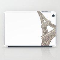 eiffel tower iPad Cases featuring Eiffel Tower  by Elyse Notarianni