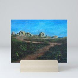 Ruins on the Sea AC160324m Mini Art Print