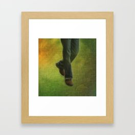One Step, Two Steps Framed Art Print