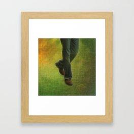 One Step, Two Steps Framed Art Print