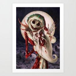 Bloody Jack Art Print