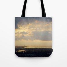 Sunrise Over South Long Beach Tote Bag