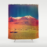 saturn Shower Curtains featuring Saturn. by Polishpattern