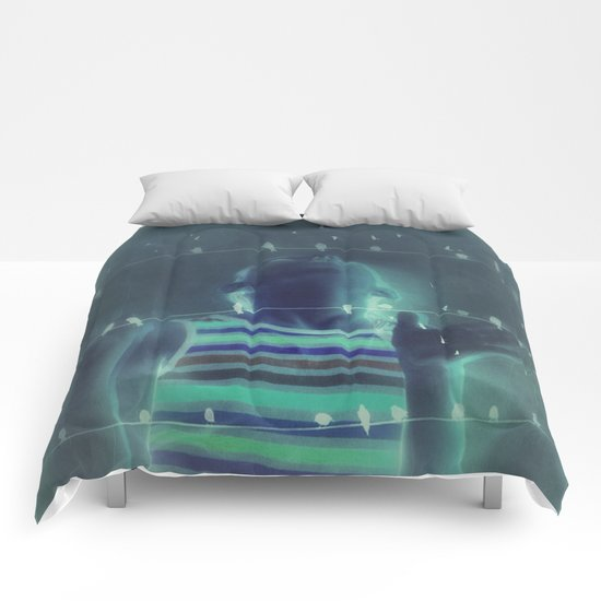 Blue Dreams Comforters