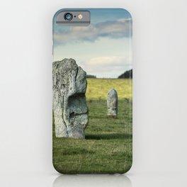 Avebury Stones iPhone Case