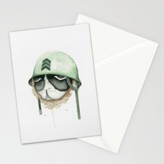 Soldier on Brave Spirit Stationery Cards