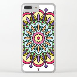 Integrity Mandala Clear iPhone Case