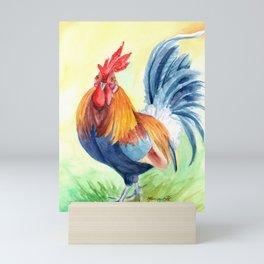 Kauai Island Rooster 4 Mini Art Print