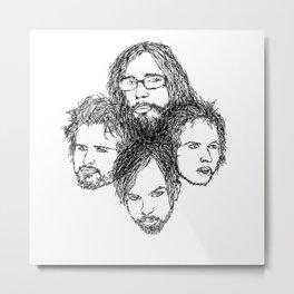 Kings of Leon Metal Print